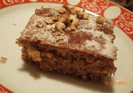 Rychlé ořechové řezy bez vážení recept