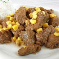 Marinované vepřové kostky s kukuřicí recept