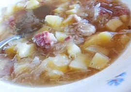 Mazurská zelná polévka recept