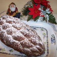 Tvarohovo-vanilková vánočka recept