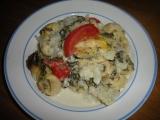 Zapečené tortelliny s květákem recept