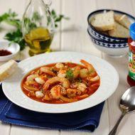 Středomořská rybí polévka s fenyklem recept