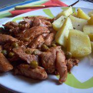 Adžika kuřecí nudličky recept