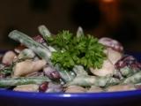 Salát tří fazolí recept