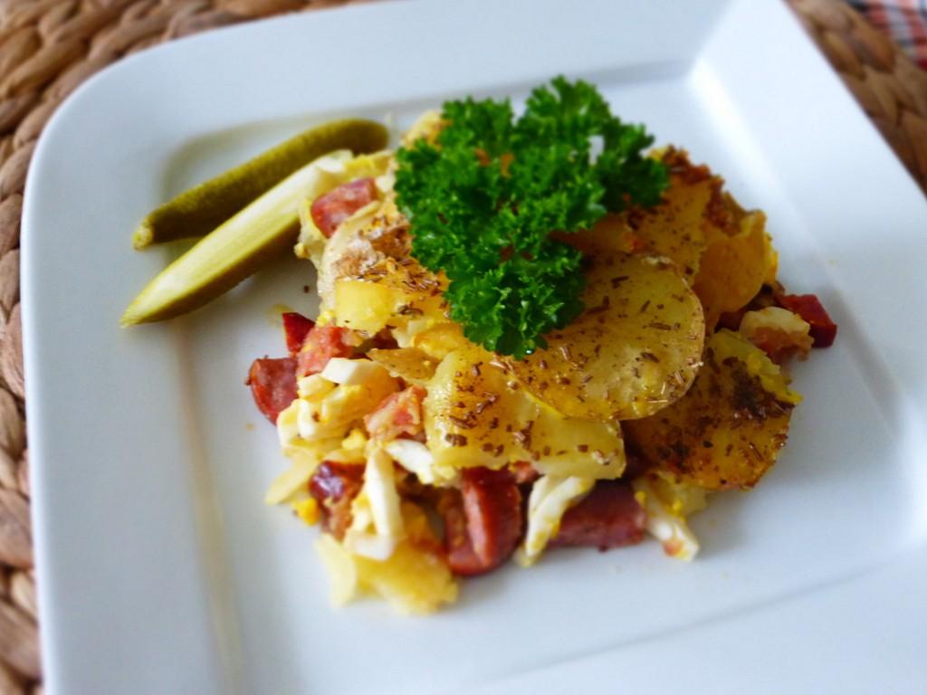 Francouzské brambory II. recept