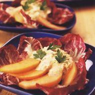 Salát s melounem a krabím masem recept