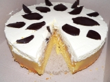 Jablečný dort se šlehačkou recept