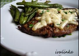 Vepřový steak se sýrem recept