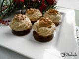 Ořechové hrudky s karamelovým krémem recept