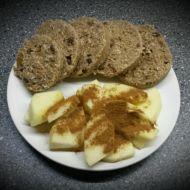 Pohanková kolečka s kokosem recept