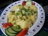 Bramborový salát  kyselý, teplý recept