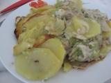 Pikantní bramborový pekáček recept