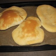 Chlebová placka  arabský chléb recept