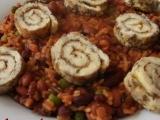 Rýžovo-fazolový pilaf recept