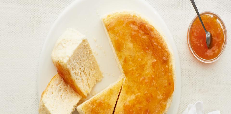 Japonský suflé cheesecake