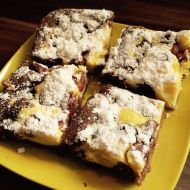Tvarohové řezy s třešněmi recept