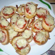 Chuťovka s mozzarellou a rajčaty recept