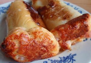 Papriky plněné sýrovou nádivkou