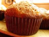 Banánové muffiny s medem a skořicí recept