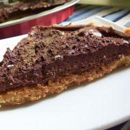 Drobenkový koláč s čokoládovým krémem recept