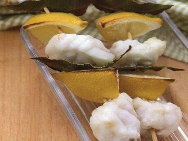Rybí špíz s citronem