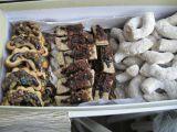 Rohlíčky s lentilkami a kandovaným ovocem recept