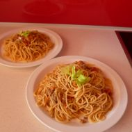 Špagety Bolognese recept
