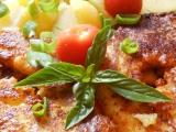 Kapr v těstíčku se sýrem a slaninou recept