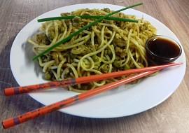 Rychlé smažené čínské nudle recept