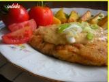Máslové kuřecí plátky s camembertovým přelivem recept ...