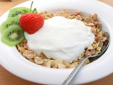 Ovesné vločky s jogurtem a pomerančem