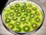 Citronový dortík s ovocem a želé recept