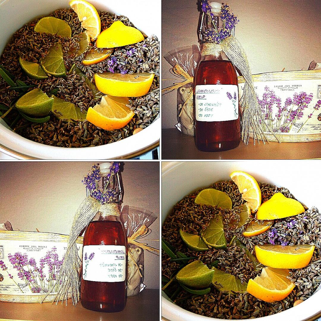 Domácí levandulový sirup recept