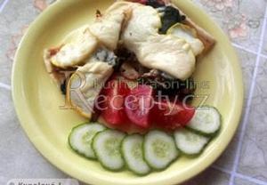 Zeleninovo-masovo-houbový koláč