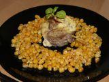 Vepřoví šneci s máslovou kukuřicí recept