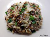 Čirok se zelím a rýží recept