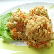 Zeleninové rizoto z hnědé rýže recept