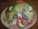Kapustové listy plněné houbovo-zeleninovou náplní recept ...