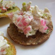 Krabí salát s mascarpone recept
