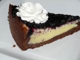 Borůvkový koláč s krémem recept