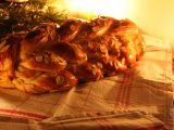 Domácí vánočka s rozinkami recept