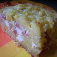 Francouzské brambory s uzeninou recept