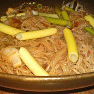 Rýžové nudle na čínský způsob recept