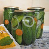 Kyselosladké sterilované okurky recept