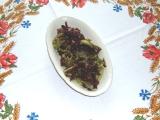 Salát Lollo Rosso s hořčičnou zálivkou recept