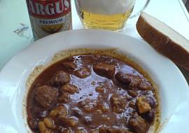 Guláš po brněnsku  Argus recept