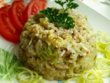 Mleté maso s kapustou a rýží recept