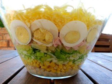 Celerový salát s kukuřicí