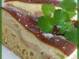 Hruškový koláč se zakysanou čepicí recept