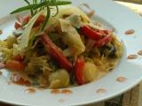 Smetanové gnocchi v zelenině recept